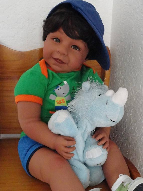 Reborn Ethnic Hispanic Biracial Med Skin Tone 22 Toddler