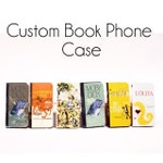 Book phone /iPhone flip Wallet case-Custom iPhone 11, X, 8, 7, 6, 6 7 & 8 plus, 5, 5s Samsung Galaxy S9 S8 S7 S6 S5 Note 5, 7, 8, 9 LG