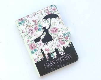 Kindle Paperwhite Case - Mary Poppins - Genuine Leather