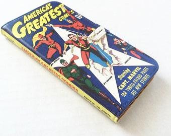 Comic Book Gift, Comic Book Phone Case, Comic Book iPhone Case, Book Phone Case, Book iPhone Case, iPhone X, 8, 7, Wallet Phone Case