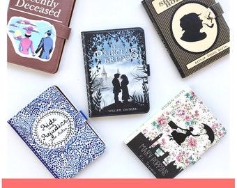 Custom Book Kindle Paperwhite Case - Genuine Leather
