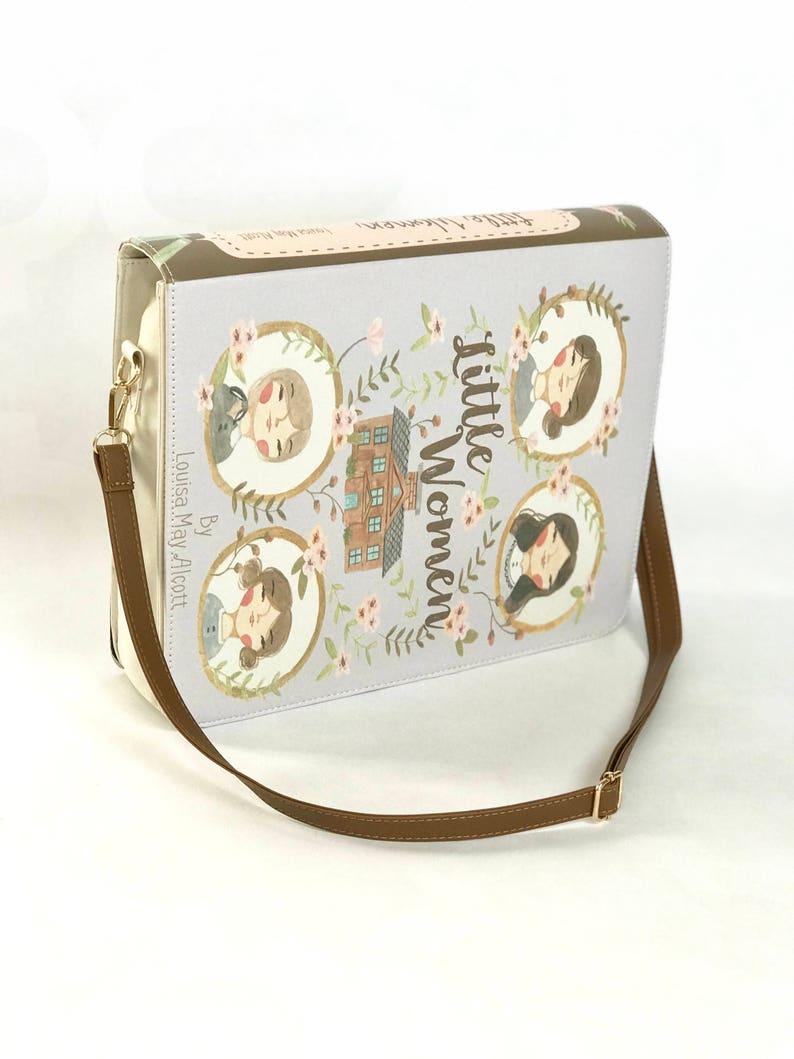 Little Women by Louisa May Alcott  Messenger Bag image 0