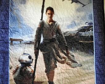 Star Wars Wall Quilt- Episode VII - The Force Awakens - Star Wars: Episode VII -