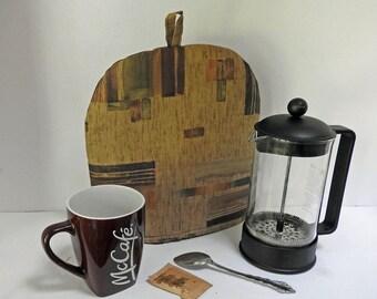 In Abstract Coffeepot Cozy  -  Coffee Pot Cozy - Bodum  Cafetiere Cozy