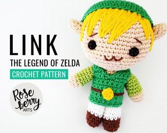 Link (Zelda Twilight) Tutorial Amigurumi (English pattern sub ... | 270x340