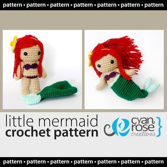 Descarga Instantánea La Sirenita The Little Mermaid con | Etsy