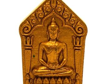 Thai Amulet Poo Suer Jow Sanaeh Mahasanaeh Pendant by Luang Ta Ruam Wat Koke Samran