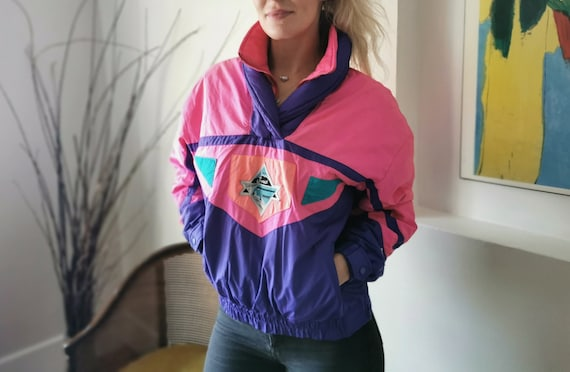 80s bomber ski jacket