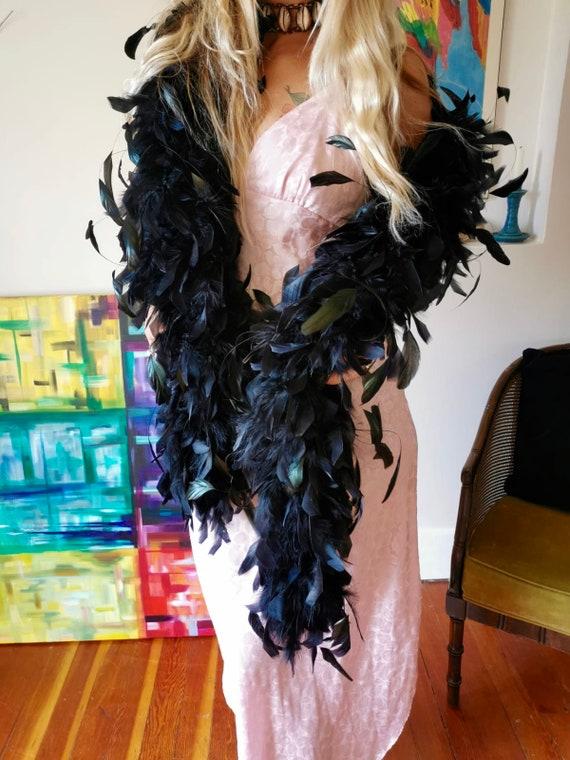 Vintage feather boa
