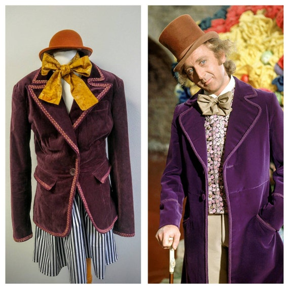 how to make a willy wonka jacket