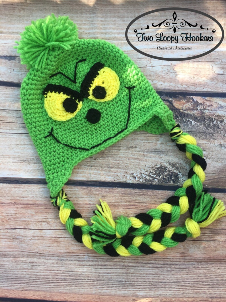 dc94d24469e Grinch Inspired Hat