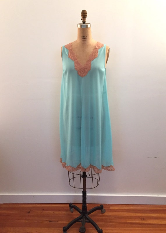 Emilio Pucci for Formfit Rogers turquoise with nu… - image 2