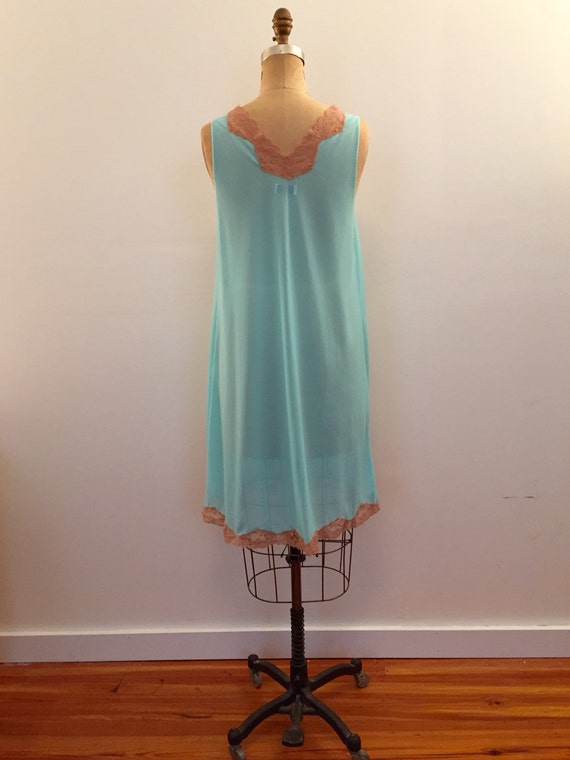 Emilio Pucci for Formfit Rogers turquoise with nu… - image 3
