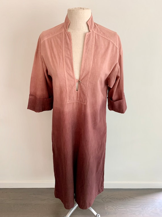 India Imports of Rhode Island Ombre Caftan