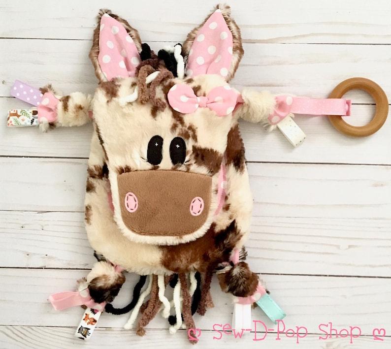 Jouet sensoriel pour bébé modèle cheval - Créatrice ETSY : SewDPopShop