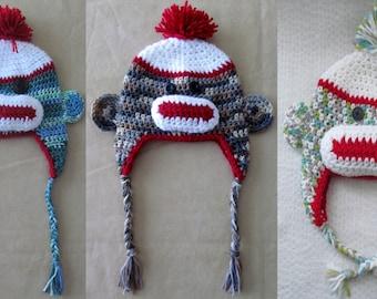 Sock monkeys on the loose hats