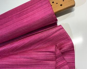 Magenta Tussar Silk Fabric, 100% Organic Silk, Handwoven Tussar Silk Fabric, Textured Silk Fabric, Handmade Silk Fabric For Cosplay Costumes