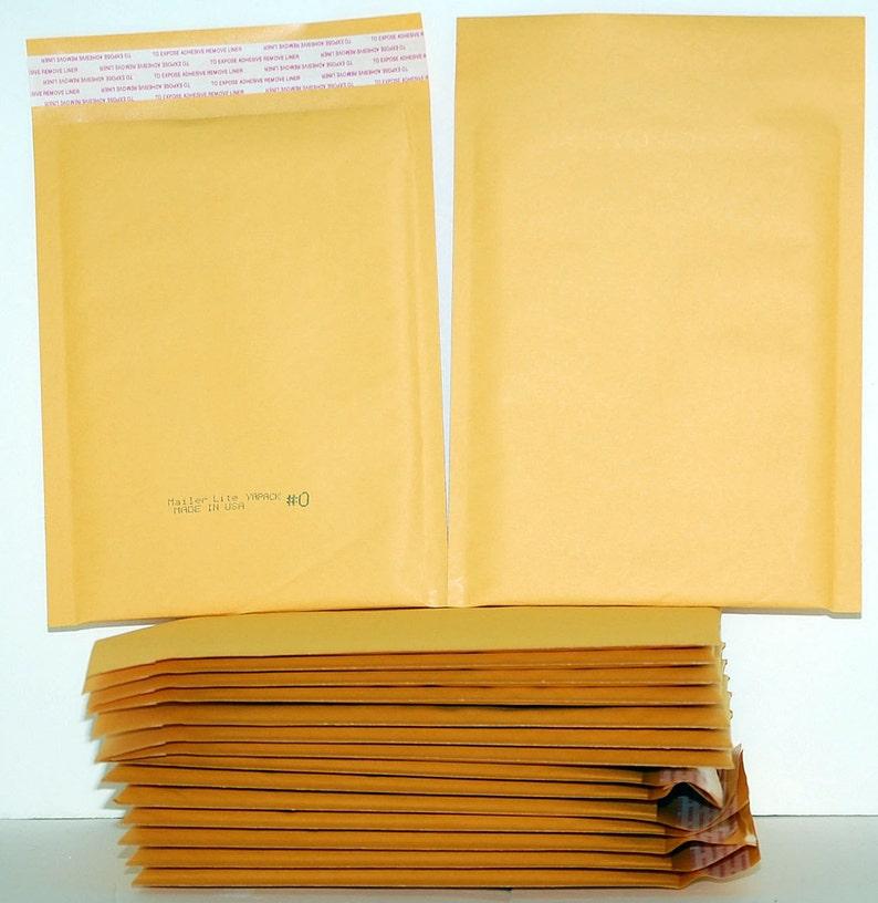 "10 KML-2 Self-Sealing Kraft Bubble Cushioned Envelope Mailers 8 1//2/"" x 11/"" ID"