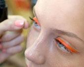 PEN EYELINER ORANGE (is the newBlack ) Easy to use Liquid Non-Toxic Organic Vegan Natural Waterproof for sensitive eyes