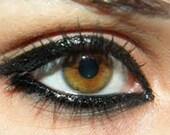 BLACK PEN EyeLiner Non-Toxic LIQUID eyeliner Organic Vegan Natural Bare Mineral Makeup Waterproof for sensitive eyes