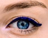 BLUE PEN EYELINER Liquid Non-Toxic Organic Vegan Natural Bare Mineral Makeup Waterproof for sensitive eyes