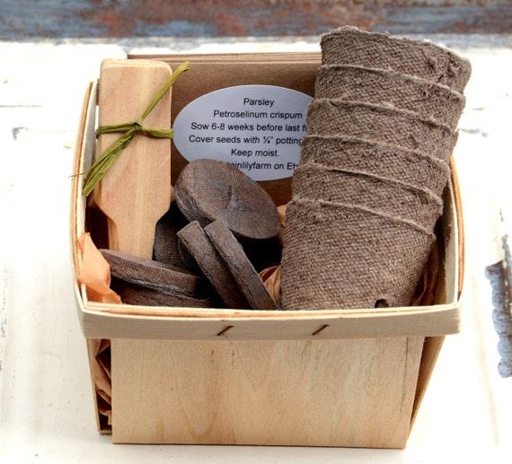 Ordinaire Herb Garden Kit Heirloom Herb Seeds Garden Supplies In Gift | Etsy
