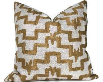33511e5a372f Zak and Fox Tulu Pillow Cover in Sumac