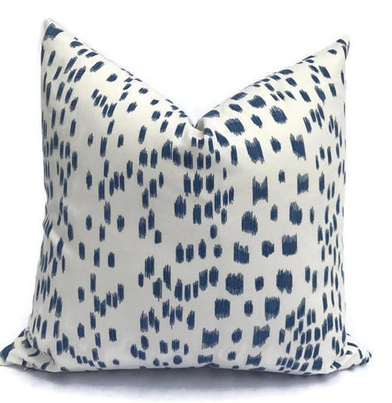 Brunschwig And Fils Les Touches Print In Blue Throw Pillows Etsy Magnificent Etsy Decorative Throw Pillows