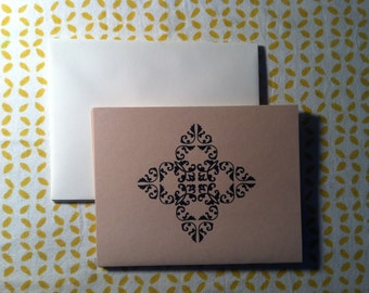 Natural Note Cards - Set of 5