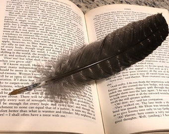 feather quill pen etsy