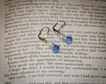 Downton Abbey Edwardian Inspired Earrings: Mary's Wedding