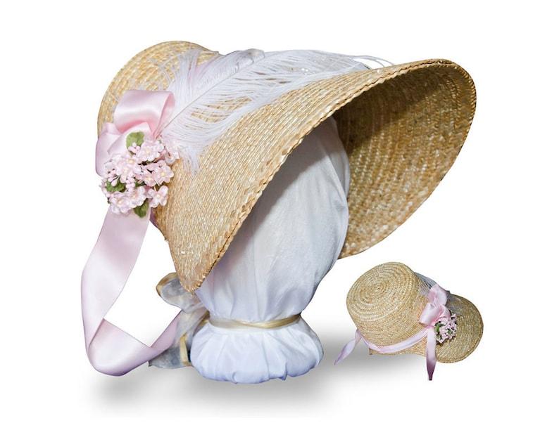 Victorian Hat History   Bonnets, Hats, Caps 1830-1890s MTO- Choose Your Color! Austentation Jane Austen Regency 1812 Poke Bonnet: Eliza $70.00 AT vintagedancer.com