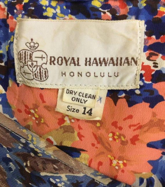 Classic 1950's Royal Hawaiian Sarong Style Tiki D… - image 6