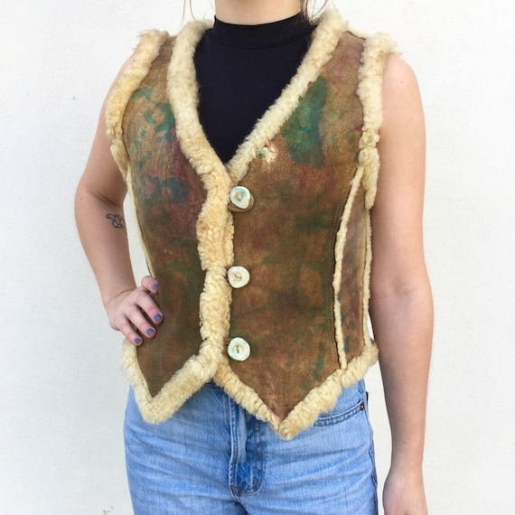 Awesome 1970s Leather Vest