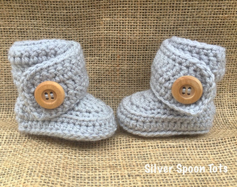 25095fc296f Baby Boots,Baby wrap boots, Crochet baby Boots,Baby Booties/ Ugg Inspired  boots, Knit,Boy's, Girl's, many colors to choose from