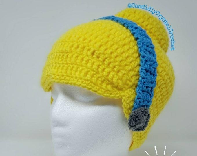 Cinderella styled wig hat (Crochet)