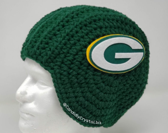 Unisex Greenbay Packers inspired Football Hat