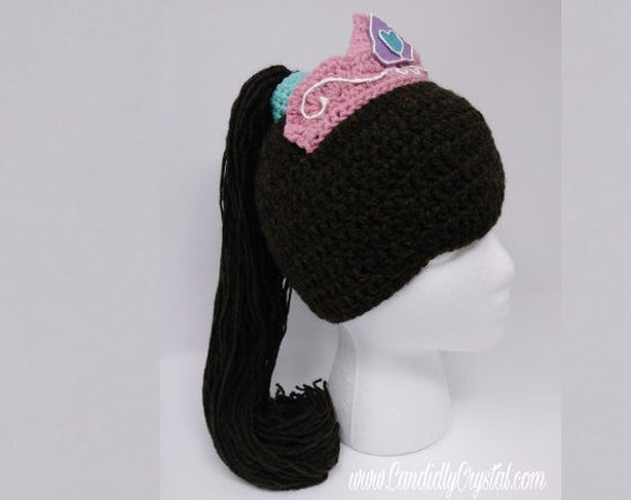 Nella the Princess Knight Ponytail Hat