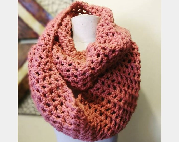 Candidly Crystal Cozy Cowl (Infinity Scarf)