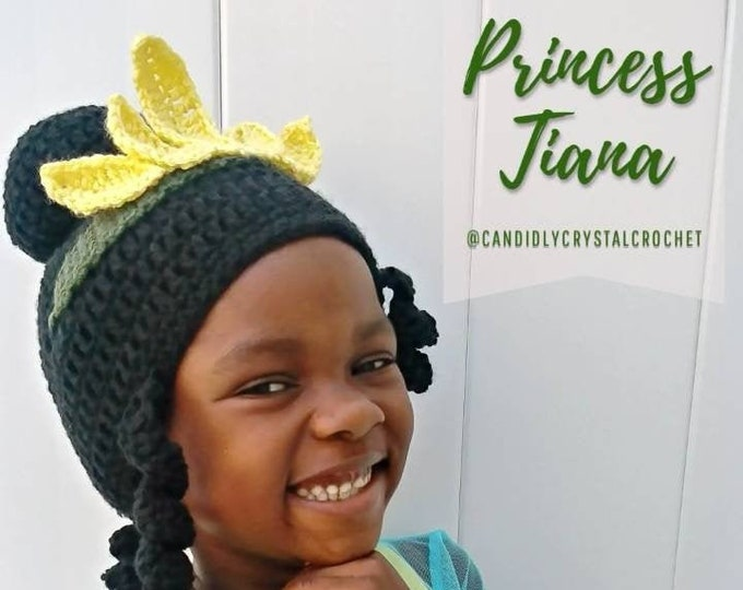 Princess Tiana inspired Hat