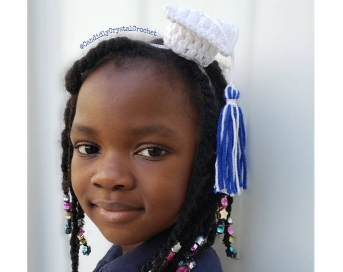 Graduation Cap Headband - Quarantine Graduate - One Size fits most Children to Adults