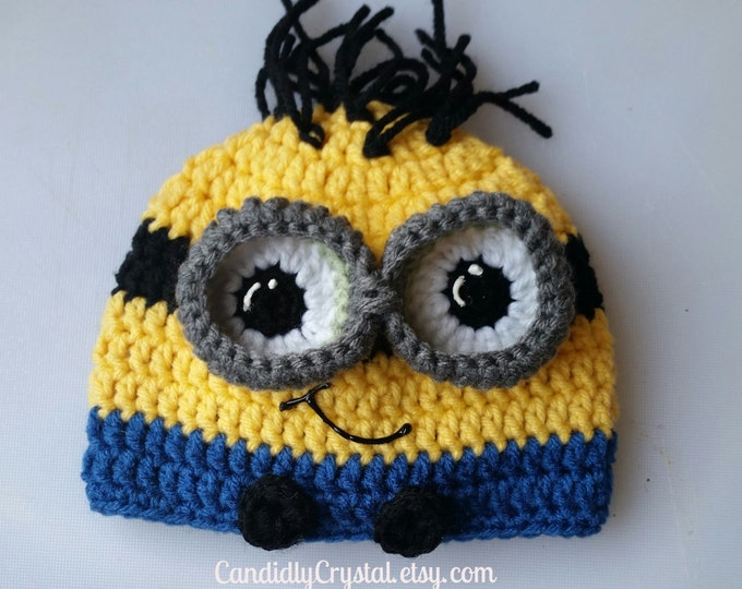 3D Eyes Despicable Me Hat