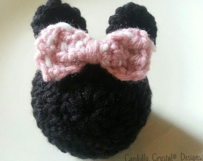 Minnie Mouse Door Knob Cozy