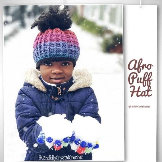 Hair Puff Hat