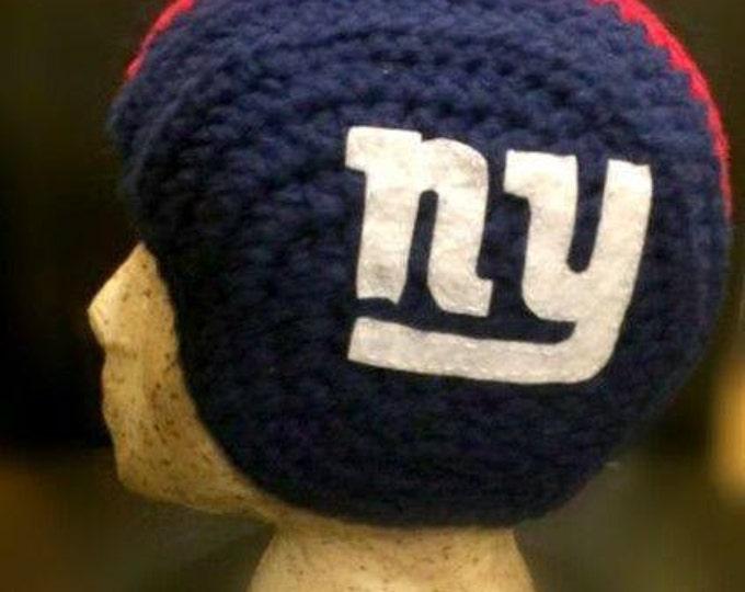 Unisex Crochet Football Hat