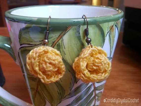 Candidly Rose Bud Earrings