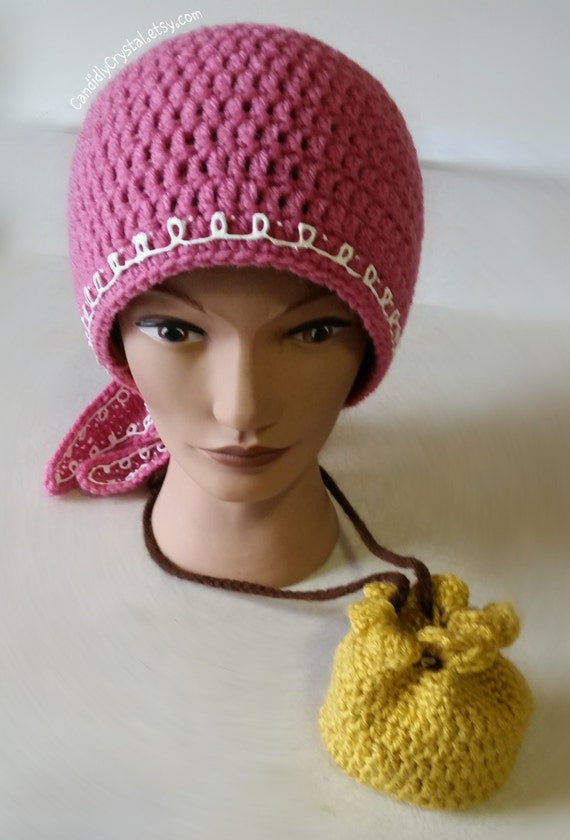 Izzy Crochet Hat (Jake and the Neverland Pirates)