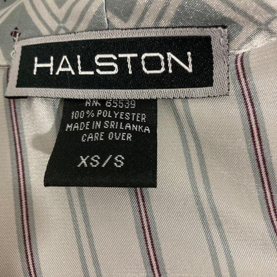 Vintage 1990's Halston Lingerie Set, Matching Rob… - image 9