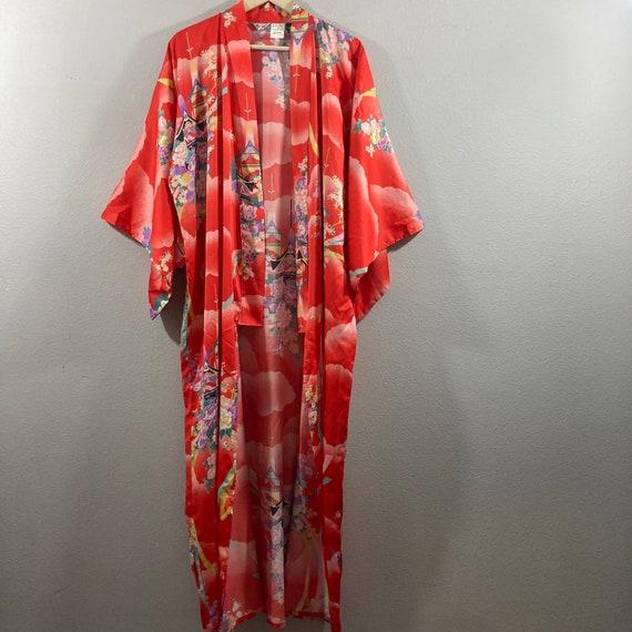 Vintage 1990's Japanese Kimono - image 5