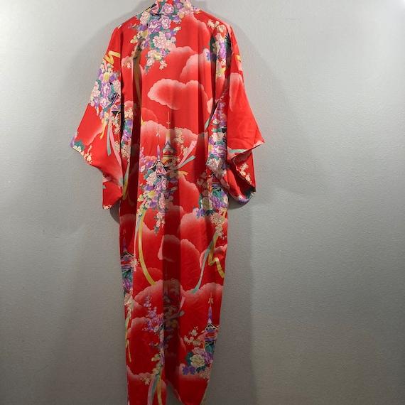 Vintage 1990's Japanese Kimono - image 6